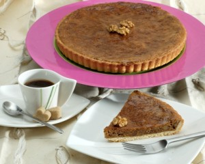 pie with coffee